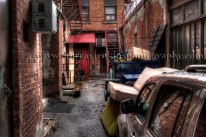 Hamilton City back alley
