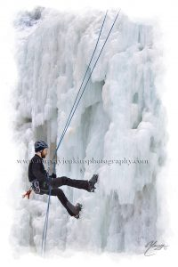 Ice Climbing Tiffany Falls
